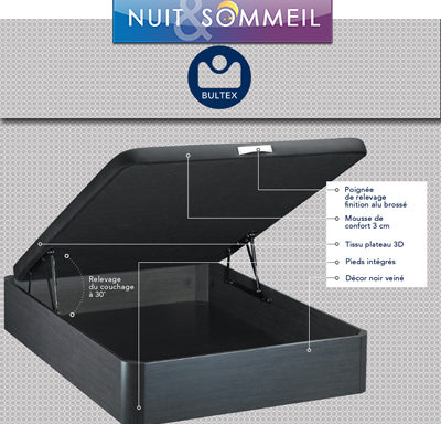 Sommier coffre en kit Asteroid
