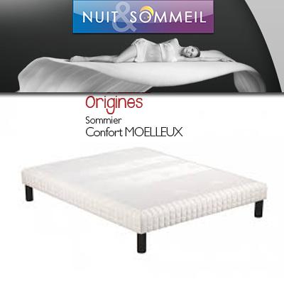 SOMMIER CONFORT MOELLEUX