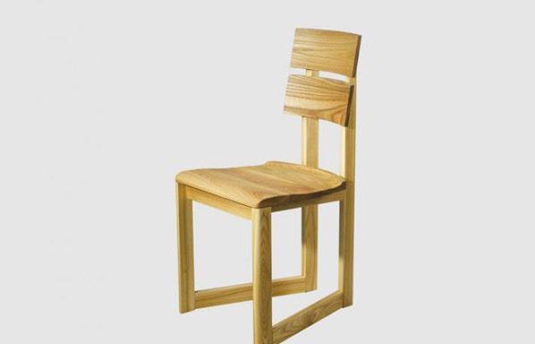 Chaise Gaia bois