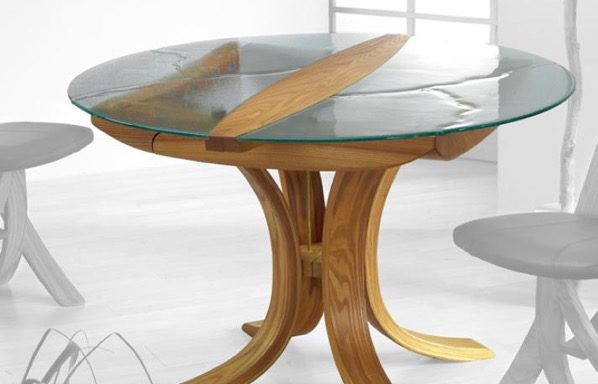 Table Ronde Epona Verre