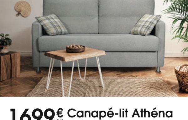 Canapé-lit Rapido ATHENA 1699€